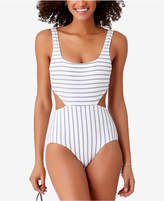 Anne Cole Studio Beach Bunny Striped Cutout One-Piece Swimsuit Women's Swimsuit