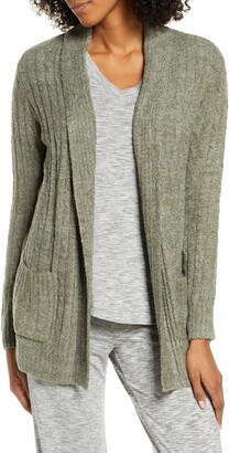 Barefoot Dreams CozyChic(TM) Lite Cable Knit Cardigan