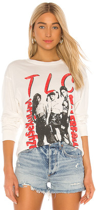 Daydreamer TLC Waterfalls Oversized Long Sleeve Shirt