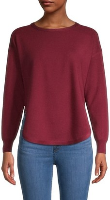 Kenneth Greene Split-Hem Sweater