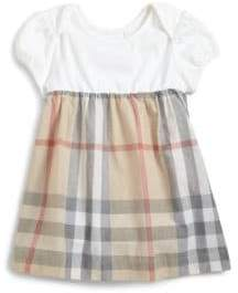 Burberry Baby Girl's Classic Check Dress - Classic Check - Size 3 Months