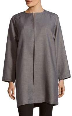 Lafayette 148 New York Divina Solid Cotton-Blend Coat