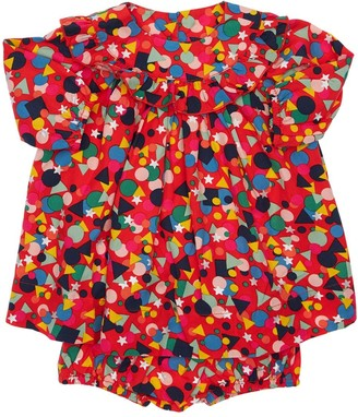Stella McCartney Printed Lyocell Dress W/ Diaper Cover