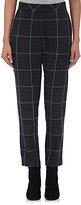 Alexander Wang Women's Glen Plaid Trousers-LIGHT BLUE