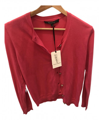 Tara Jarmon Pink Cotton Knitwear