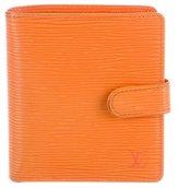 Louis Vuitton Epi Porte Billets Compact Wallet