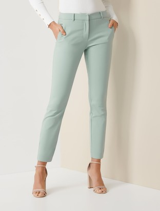 Forever New Grace 7/8th Slim Pants - Dew Daydream - 10