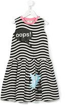Fendi speech bubble print dress - kids - Cotton/Spandex/Elastane - 8 yrs