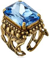Sorrelli Emerald Cut Band Ring, Coastal Mist