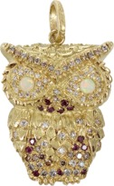 Carolina Bucci Multi-Color Diamond Owl Pendant