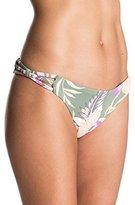 Roxy Women's Castaway Floral Mini Bikini Bottom
