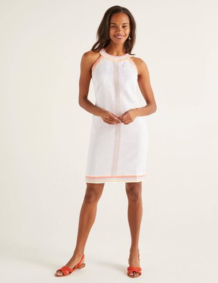Dollie Embroidered Linen Dress