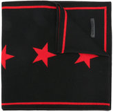 Givenchy star knit scarf