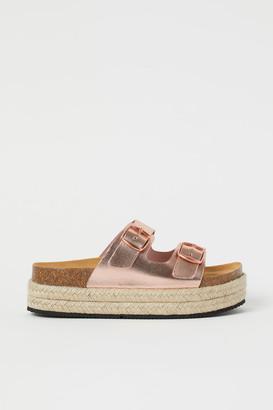 H&M Mini-me Leather Sandals - Brown