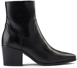 Shoe The Bear Georgia In Black Leather Boot - 36