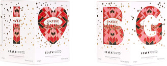 Claus Porto I Love BG Chypre Cedar Poinsetta Candle, 9.5 oz./ 270 g