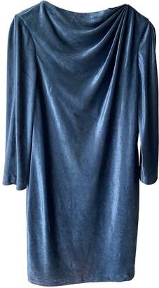 Strenesse Blue Velvet Dress for Women