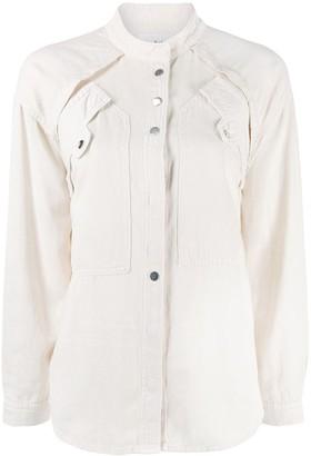 BA&SH Tyle layered blouse