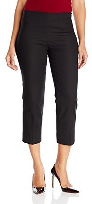 Nic+Zoe Women's Petite Size Perfect Pant Side Zip Ankle