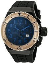 Swiss Legend Men's 'Trimix Diver 2.0' Swiss Quartz Stainless Steel Automatic Watch (Model: 13842-BB-01-BLA-RB)