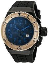 Swiss Legend Men's 'Trimix Diver 2.0' Swiss Quartz Stainless Steel Watch (Model: 13842-BB-01-BLA-RB)