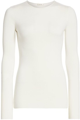 The Row Tumelo Cashmere & Wool Sweater