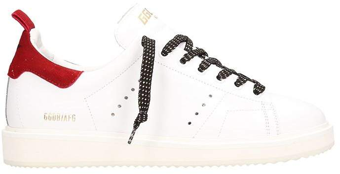 Golden Goose Starter White Leather Sneakers