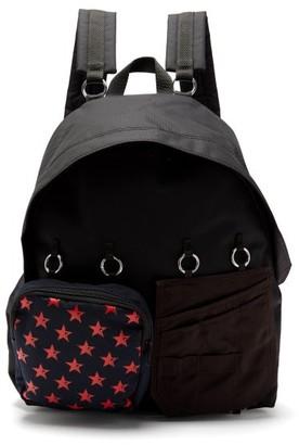 Raf Simons X Eastpak - Doubl'r Panelled Backpack - Mens - Black