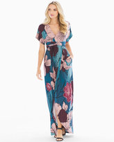 Soma Intimates Faux Wrap Maxi Dress