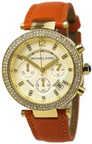 Michael Kors Women's Parker MK2279 Leather Quartz Watch