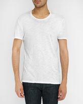 American Vintage White Jac Cotton Slub T-Shirt