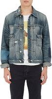 Frame Men's Distressed Denim Jacket