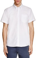Saturdays Nyc Esquina Slim Fit Short Sleeve Button Down Shirt