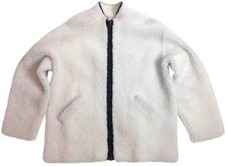 N. Ines Et Marechal \N Ecru Mongolian Lamb Jackets
