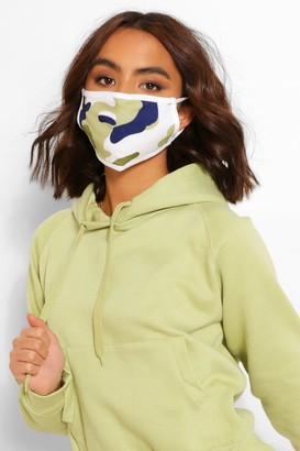 boohoo Camo Fashion Face Mask