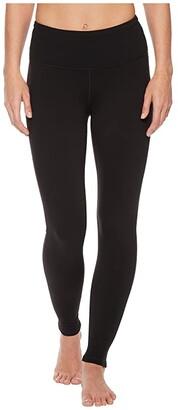 Prana Transform High Waist Legging (Black) Women's Casual Pants