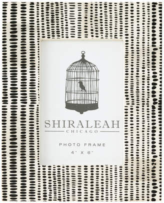 Shiraleah Loft 4X6 Hand Painted Picture Frame