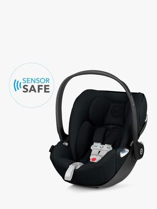CYBEX Cloud Z i-Size Group 0+ Baby Car Seat, Deep Black