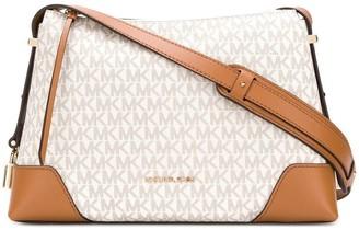 MICHAEL Michael Kors Crosby monogram shoulder bag