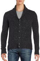 Original Penguin Shawl-Collar Cotton-Blend Cardigan