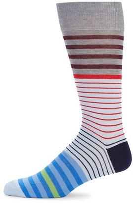 Saks Fifth Avenue Multicolor Striped Socks