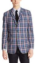 U.S. Polo Assn. Men's Plaid Sports Jacket
