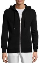 Michael Kors Ribbed Cashmere Hoodie