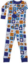 New Jammies Blue Sports Organic Pajama Set - Infant & Kids