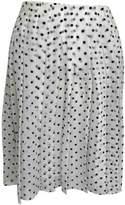 Theory White Silk Skirts