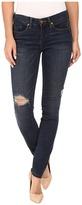 Blank NYC Dark Denim Distressed Skinny in Junk Drawers Women's Jeans