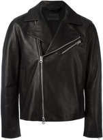 Acne Studios asymmetric zip biker jacket
