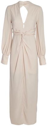 Significant Other Claribell Ruched Midi Dress