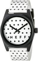 Neff Men's NF0208POWH Daily Wild Analog Watch
