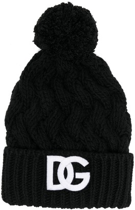 Dolce & Gabbana Logo Knit Hat